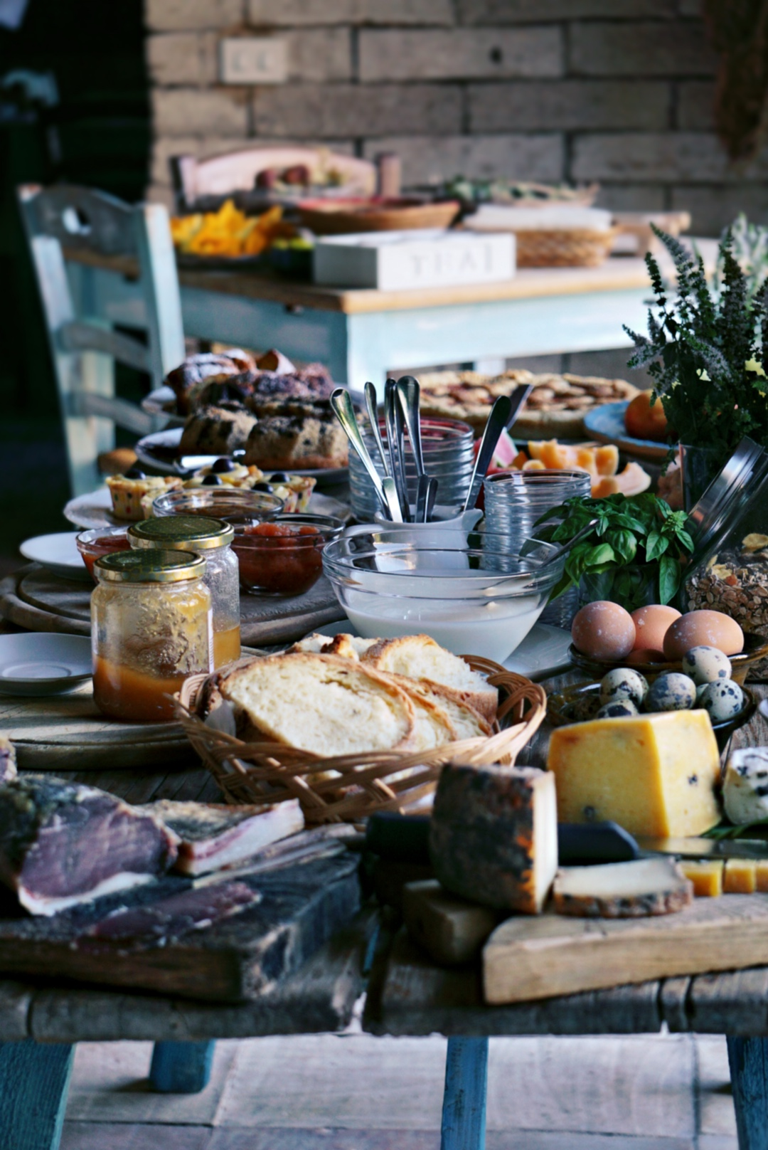 Colazione salata da Domu Antiga | © Jessica Cani