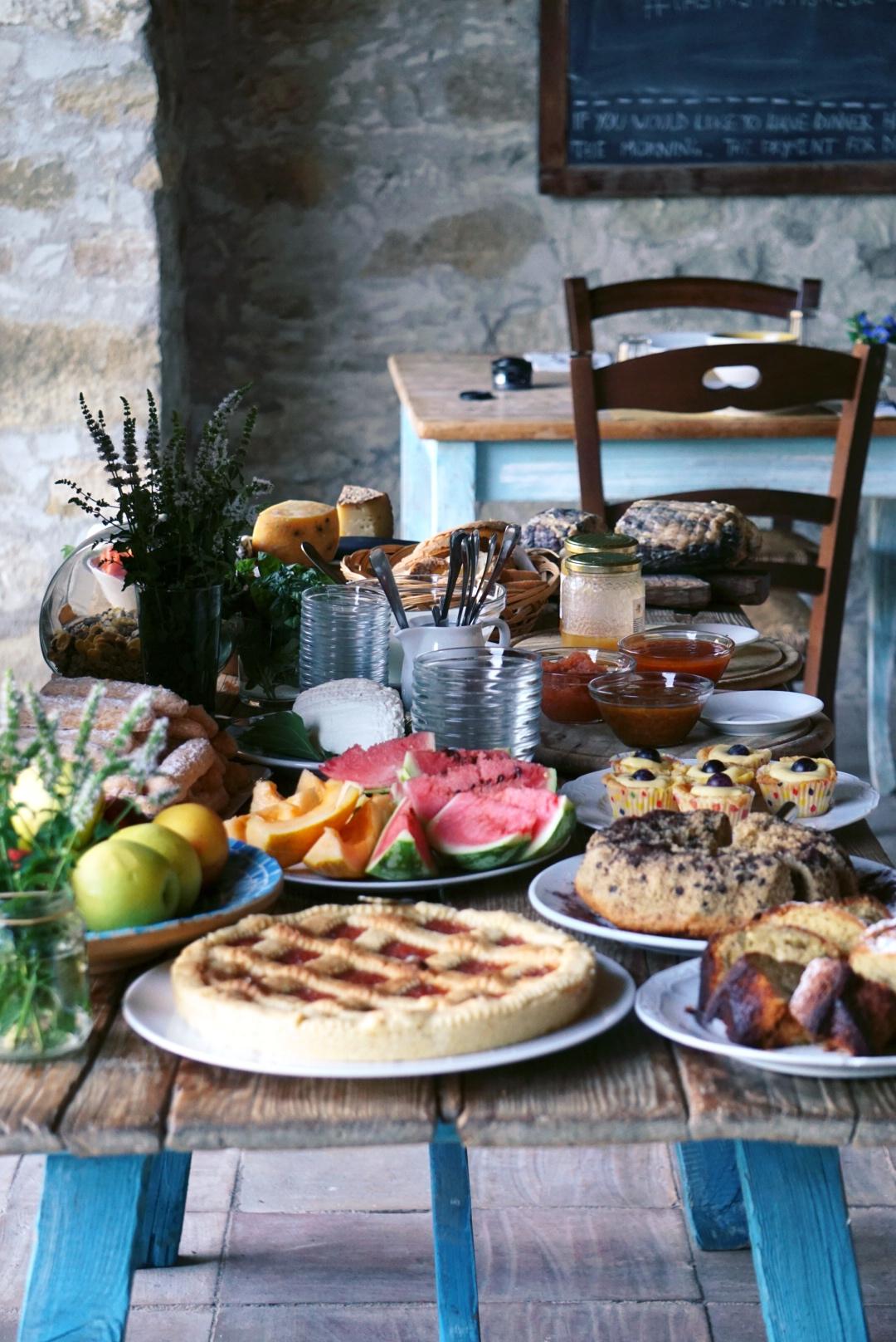 Colazione dolce da Domu Antiga   © Jessica Cani