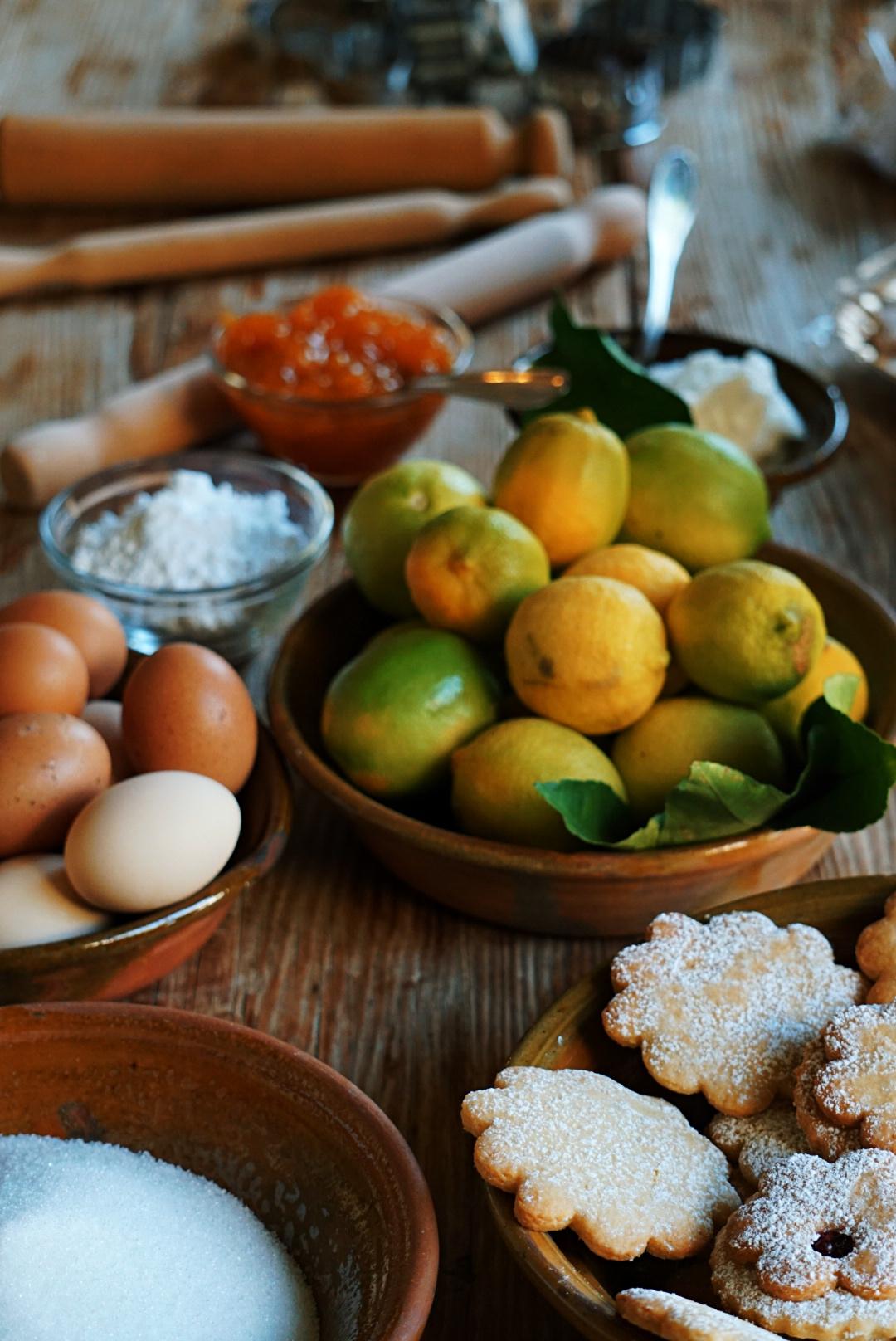 Ciambelline: laboratorio di pasta da Domu Antiga   © Jessica Cani