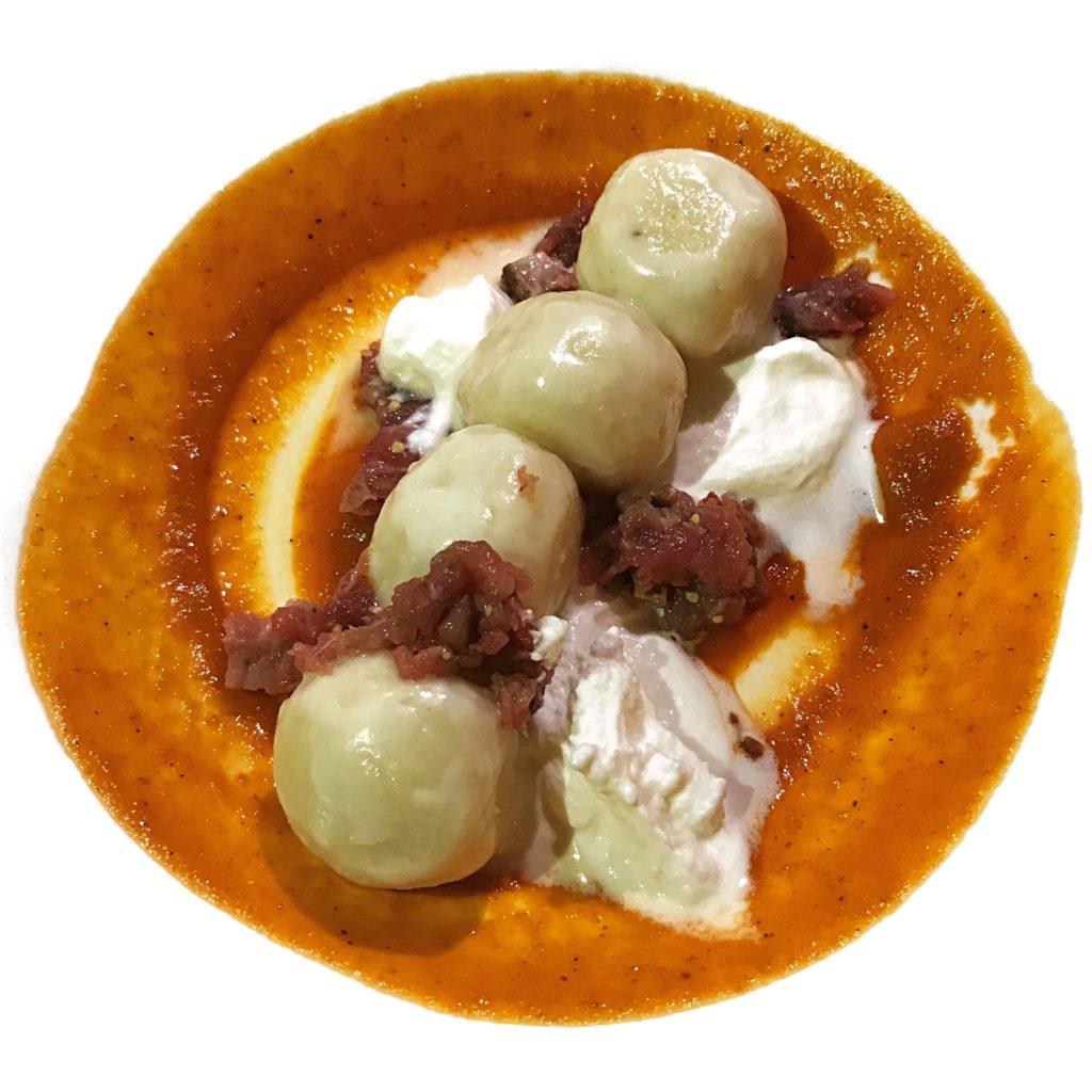Gnocchi di patate con abbacasu e sardo modicana di Antica Dimora del Guccione | © Jessica Cani