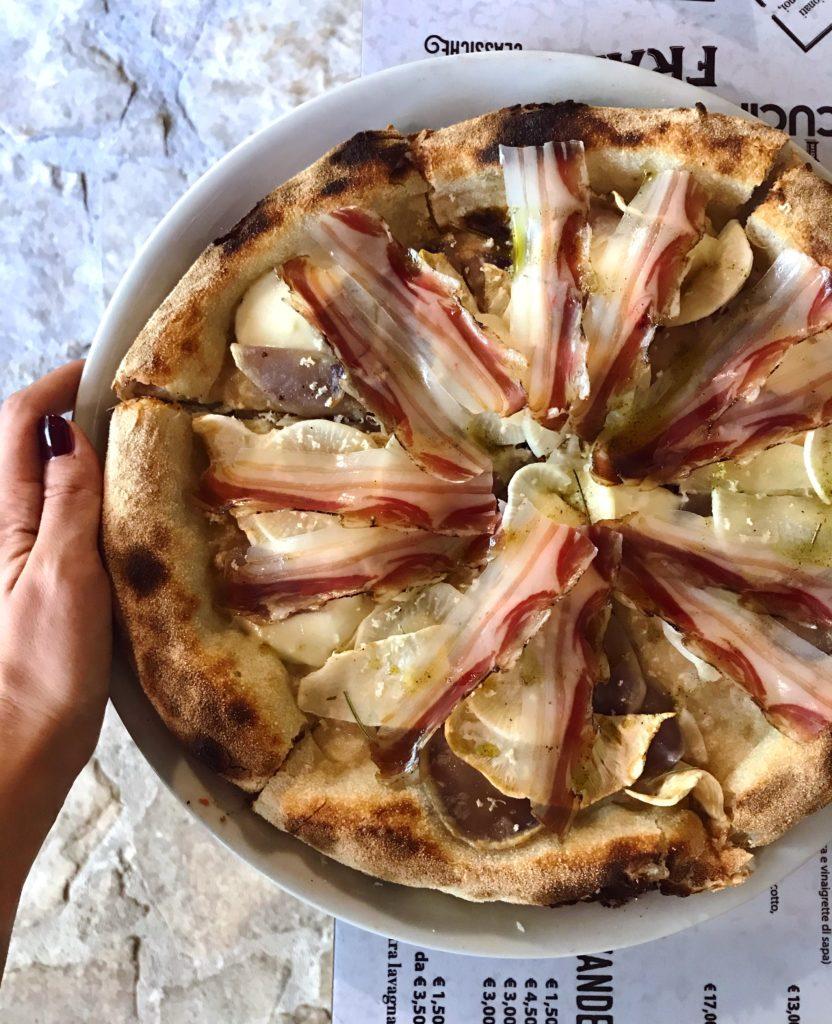 Pizza Pusole non fare il tubero di Framento. A Natale regala una cena | © Jessica Cani