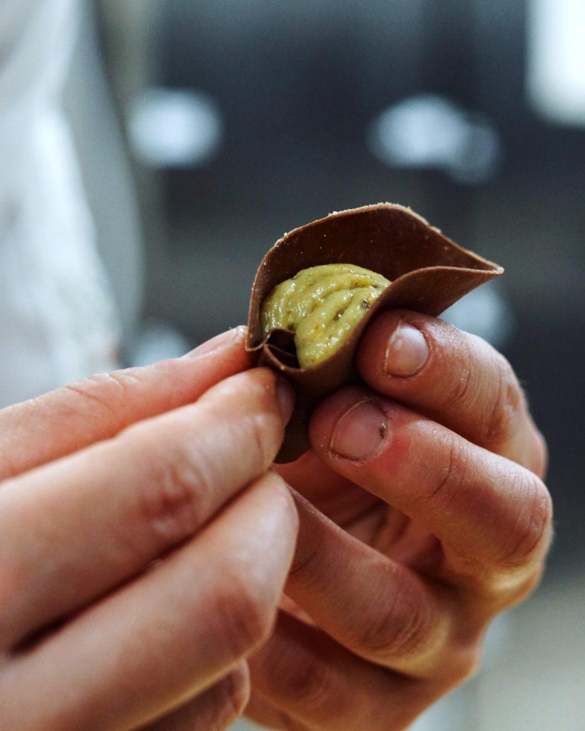 I culurgiones al pistacchio di Claudia Vacca | © Jessica Cani