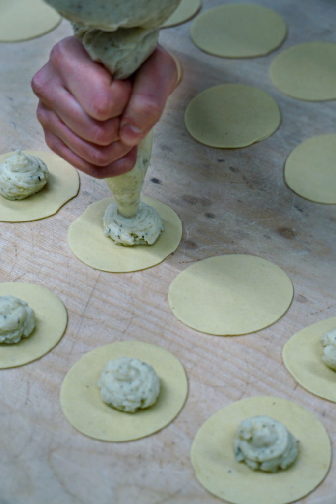 Farcia di patate, pecorino e menta | © Jessica Cani