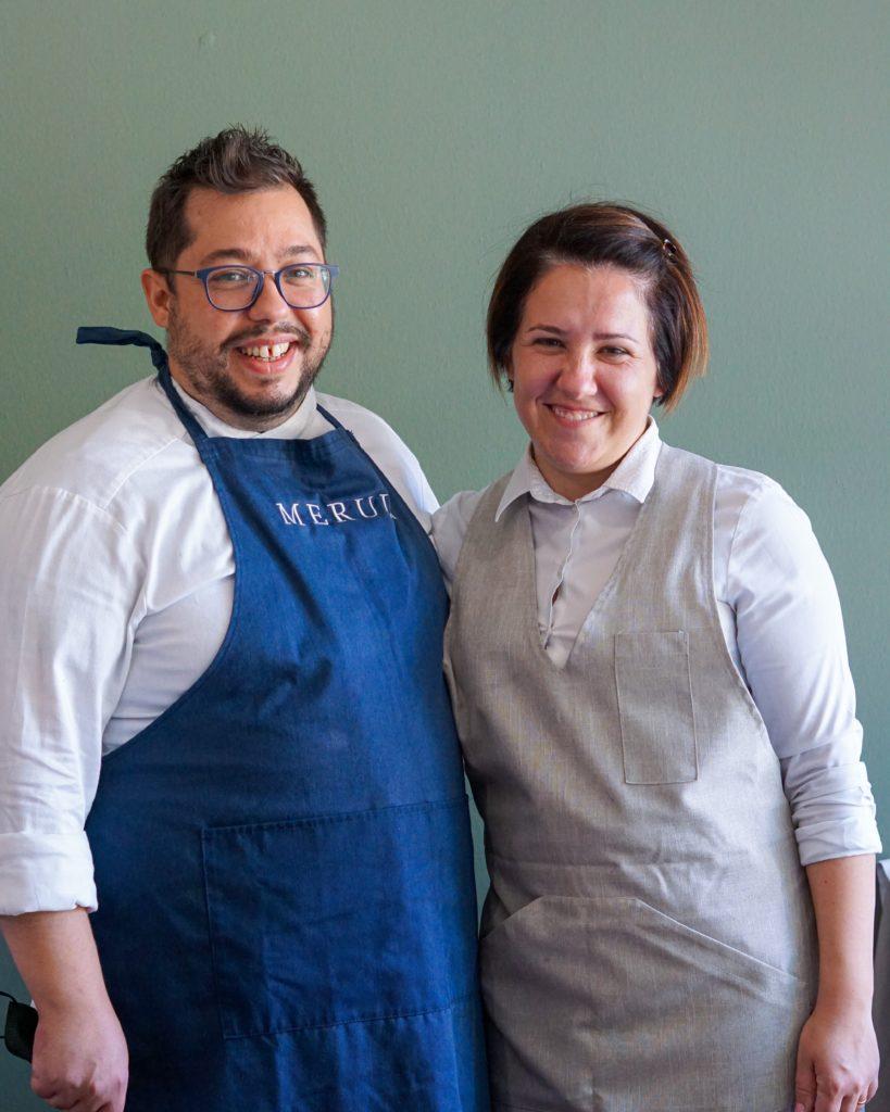 Antonio Muggianu e Antonella Bartoloni del ristorante Merula a Dorgali | © Jessica Cani